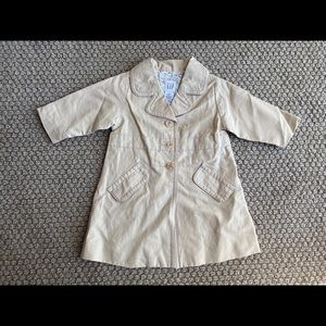 Baby Gap trench coat 18month to 2t